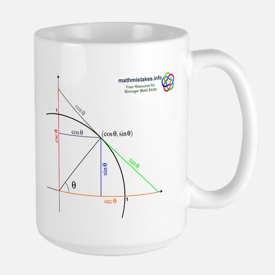 Amazing Unit Circle Large Mug