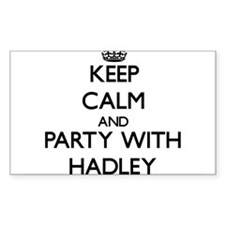Keep Calm and Party with Hadley Decal
