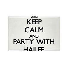 Keep Calm and Party with Hailee Magnets