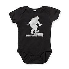 Bigfoot is sneaky sneaky w Baby Bodysuit