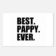 Best Pappy Ever Postcards (Package of 8)