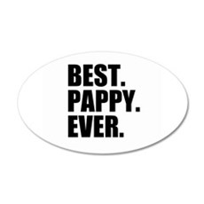 Best Pappy Ever Wall Sticker