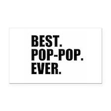 Best Pop-Pop Ever Rectangle Car Magnet