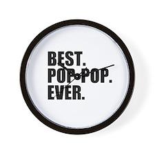 Best Pop-Pop Ever Wall Clock