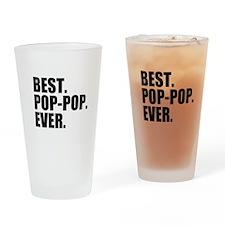 Best Pop-Pop Ever Drinking Glass