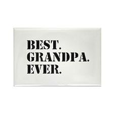 Best Grandpa Ever Magnets