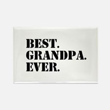 Best Grandpa Ever Magnets