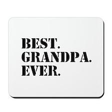 Best Grandpa Ever Mousepad