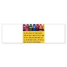 crayonstaller Bumper Bumper Bumper Sticker