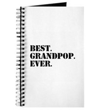 Best Grandpop Ever Journal