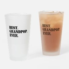 Best Grandpop Ever Drinking Glass