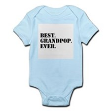 Best Grandpop Ever Body Suit