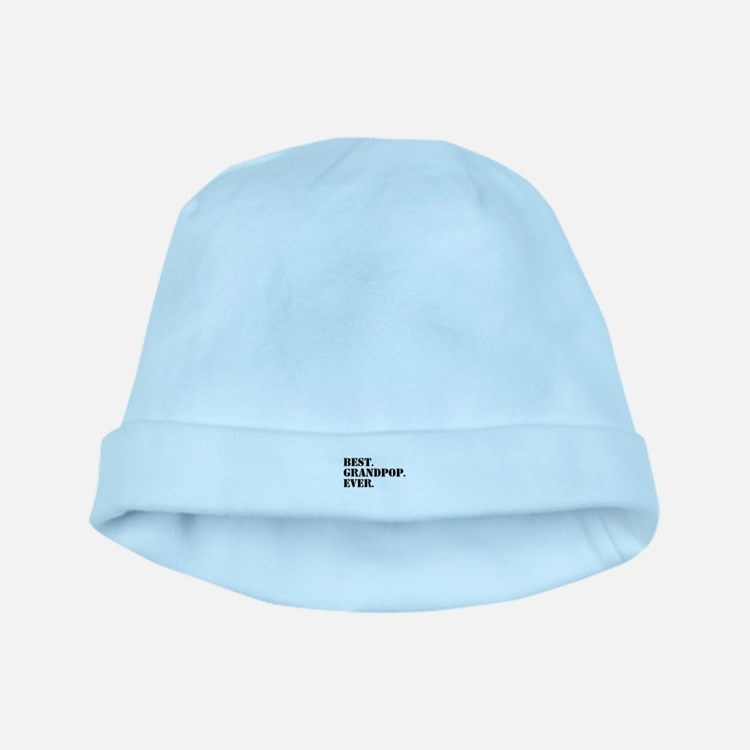 Best Grandpop Ever baby hat