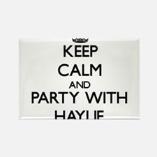 Keep Calm and Party with Haylie Magnets