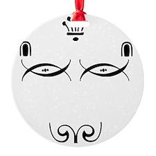 Dingbat Dog Ornament