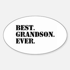 Best Grandson Ever Decal