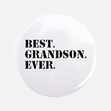 "Best Grandson Ever 3.5"" Button (100 pack)"