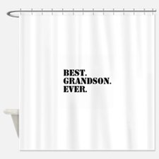 Best Grandson Ever Shower Curtain