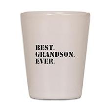 Best Grandson Ever Shot Glass