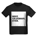 Best grandson ever Kids T-shirts (Dark)