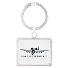 A-10 Thunderbolt II Landscape Keychain