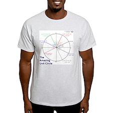 Amazing Unit Circle Light Color T-Shirt