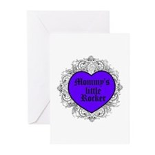 Mommy's little Rocker Greeting Cards (Pk of 10