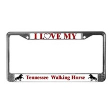 TWH Padded License Plate Frame