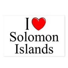 """I Love Solomon Islands"" Postcards (Package of 8)"