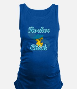 Rocker Chick #3 Maternity Tank Top