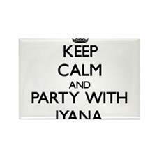 Keep Calm and Party with Iyana Magnets