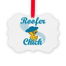 Roofer Chick #3 Ornament