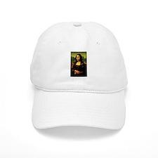Mona Lisa Baseball Baseball Cap