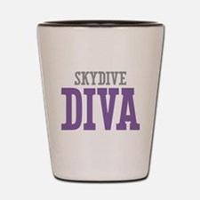 Skydive DIVA Shot Glass