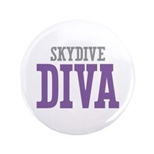 """Skydive DIVA 3.5"""" Button (100 pack)"""