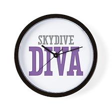Skydive DIVA Wall Clock
