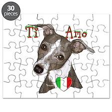 Italian Greyhound ti amo Puzzle