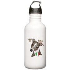 Italian Greyhound ti amo Water Bottle
