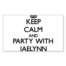 Keep Calm and Party with Jaelynn Decal