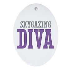 Skygazing DIVA Ornament (Oval)