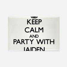Keep Calm and Party with Jaiden Magnets