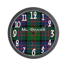 MacDonald Clan Wall Clock