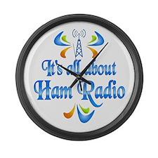 About Ham Radio Large Wall Clock