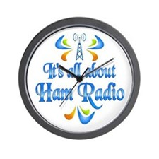 About Ham Radio Wall Clock