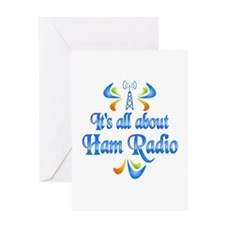 About Ham Radio Greeting Card