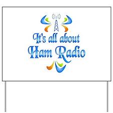 About Ham Radio Yard Sign