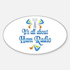 About Ham Radio Decal