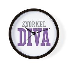 Snorkel DIVA Wall Clock