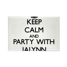 Keep Calm and Party with Jalynn Magnets