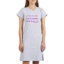 Forgotten to panic (purple) Women's Nightshirt